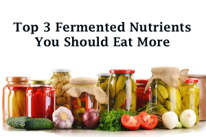 fermented nutrients