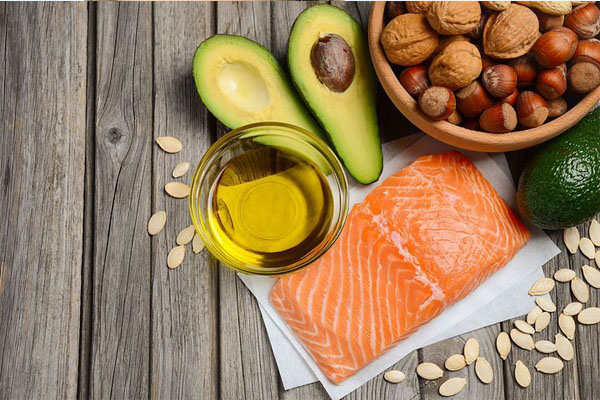 healthy diet full of omega-3