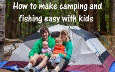 make camping and fishing