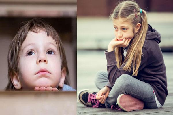 paralyzing feeling in children