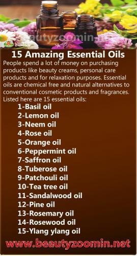 15 Amazing Essential Oils