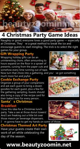 40 Christmas Party Game Ideas