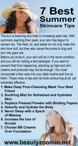 7 Best Summer Skincare Tips