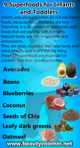 9 Superfoods for Infants and Toddlers