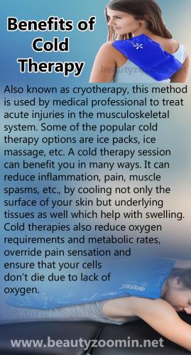 Benefits of Cold Therapy