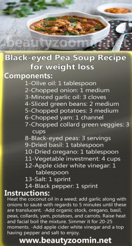 Black-eyed Pea Soup Recipe for weight loss