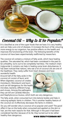 Coconut Oil – Why Is It So Popular