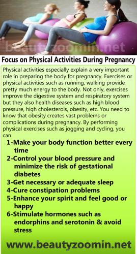 Focus on Physical Activities During Pregnancy