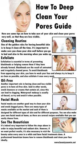 How To Deep Clean Your Pores Guide