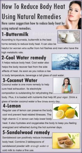 How To Reduce Body Heat Using Natural Remedies