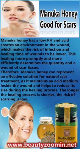 Manuka Honey Good for Scars