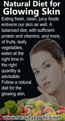 Natural Diet for Glowing Skin