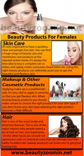 Top Beauty Products For Females