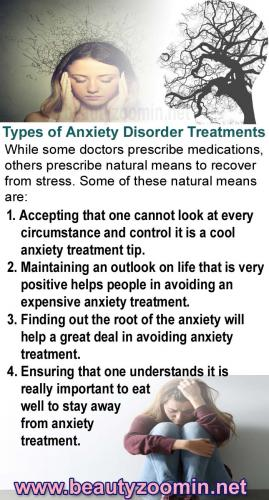 Types of Anxiety Disorder Treatments