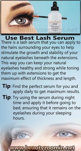 Use Best Lash Serum