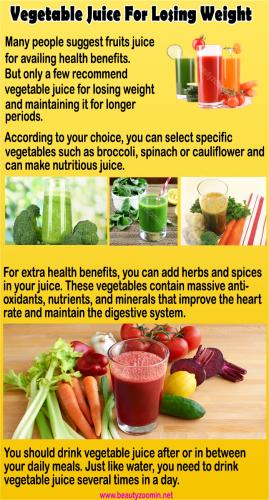 Vegetable Juice For Losing Weight