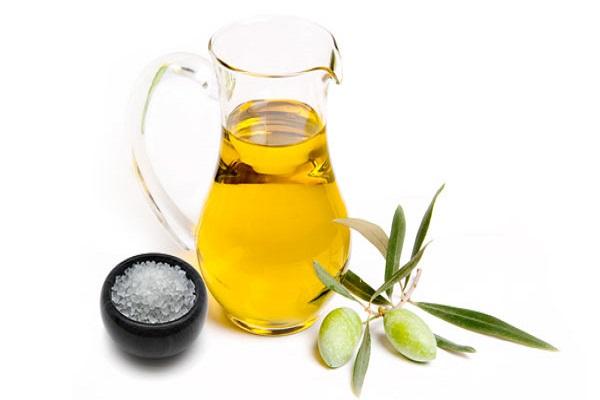sea salt and olive oil
