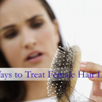 6 Ways To Treat Female Hair Loss