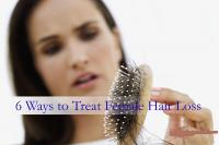 treat female hair loss