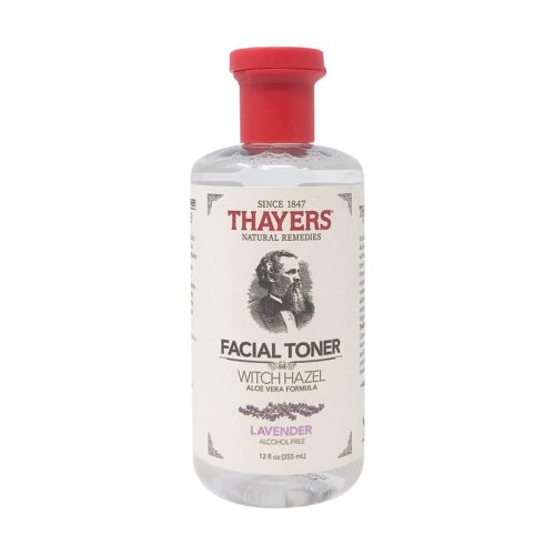 Alcohol-free Toner Witch Hazel Lavender Aloe Vera, 12 fl oz