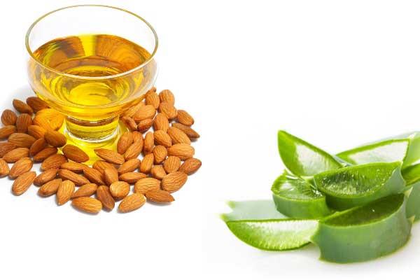 """Aloe Vera And Almond Oil"""""""