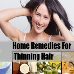 Amazing Remedies To Cure Thinning Hair