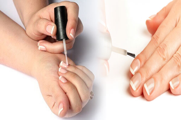 Apply Clear Polish on Your Nails