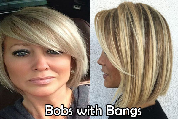 Bobs with Bangs