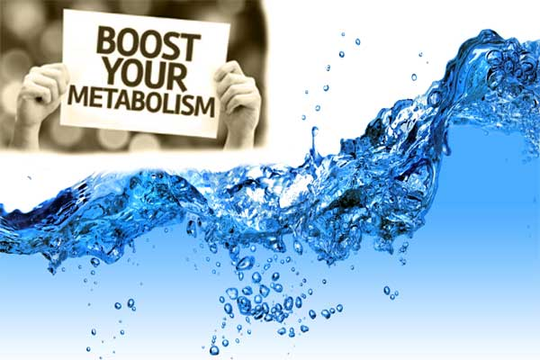 boost your metabolism with water