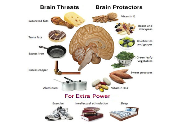 Brain treats and protectors