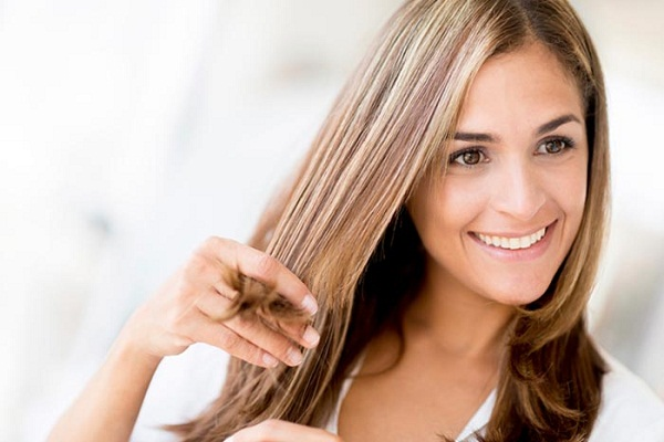 Nice shiny hair