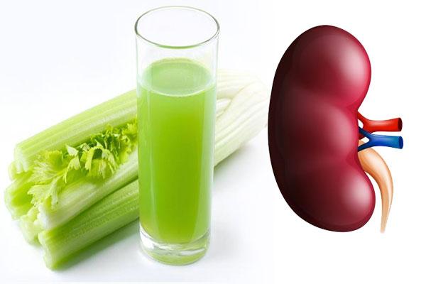 Celery to clean kidneys