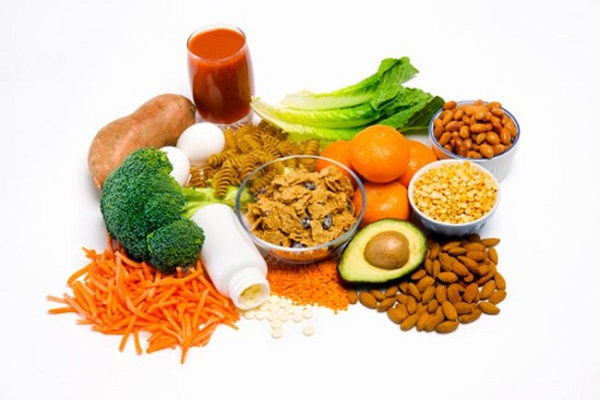 Consume more foods with folate