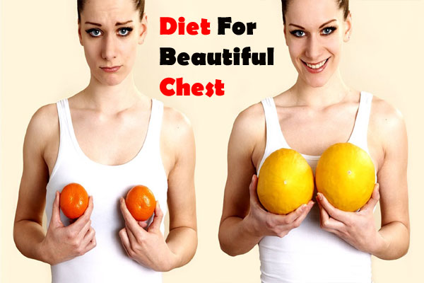 Diet for beautiful chest