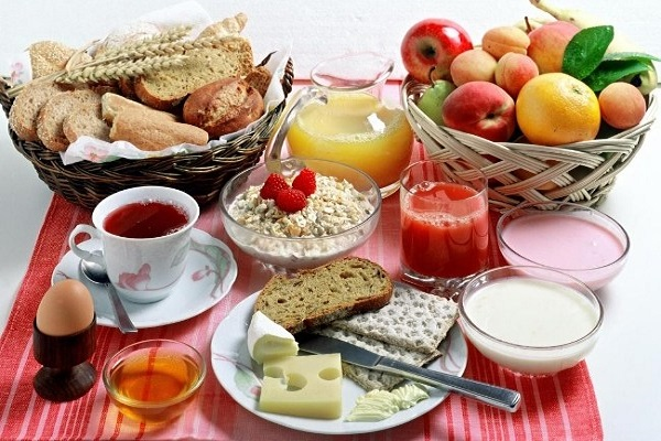 Dont skip breakfast.