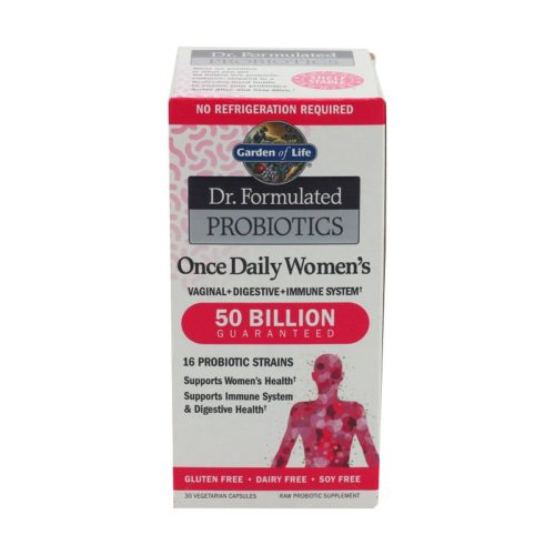 Dr Formulated Women's Once Daily Probiotics 50B, 30 capsules