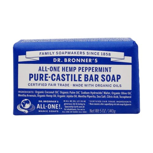 Fairtrade Hemp Peppermint Soap Bar