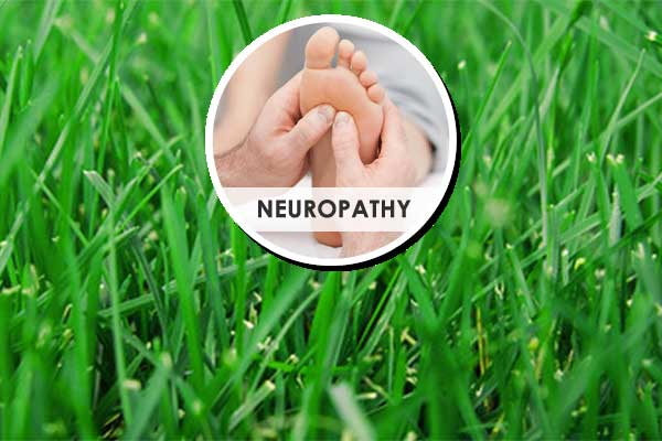Foot grass for neuropathy