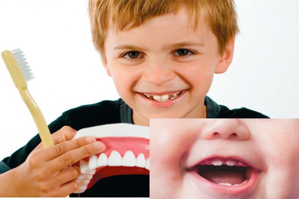 Healthier teeth for child