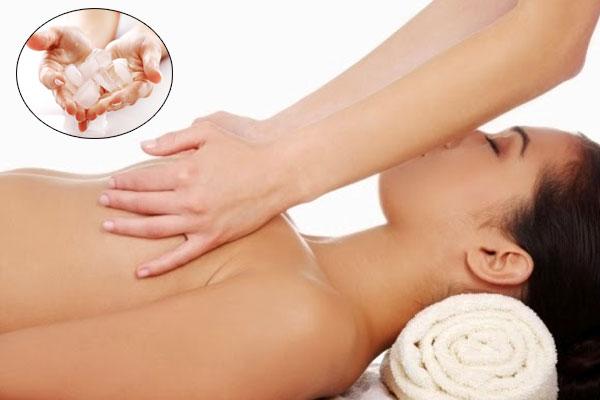 Ice massages