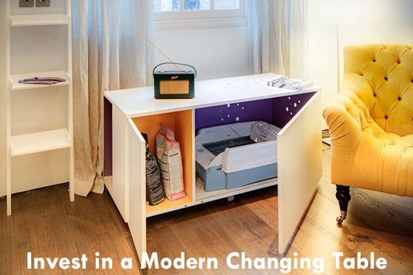 Invest in a Modern Changing Table
