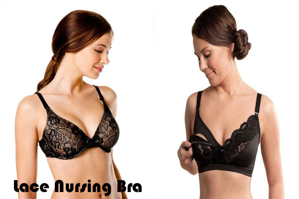 Lace Nursing Bra