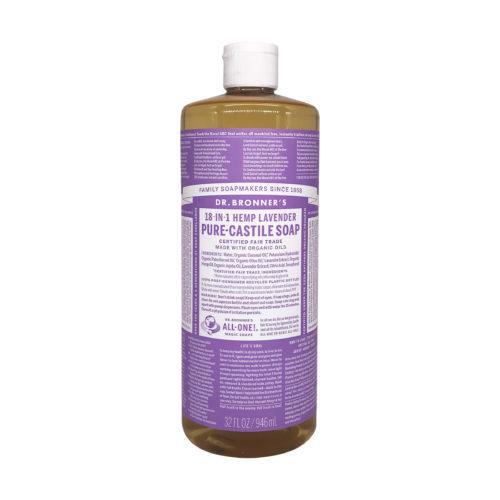 Organic Castile Lavender Liquid Soap, 32 fl oz