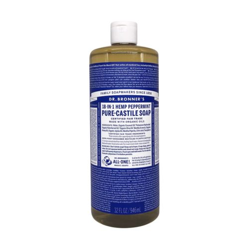 Organic Castile Peppermint Liquid Soap, 32 fl oz