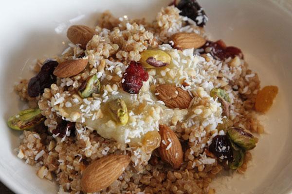 Porridge Made of Quinoa