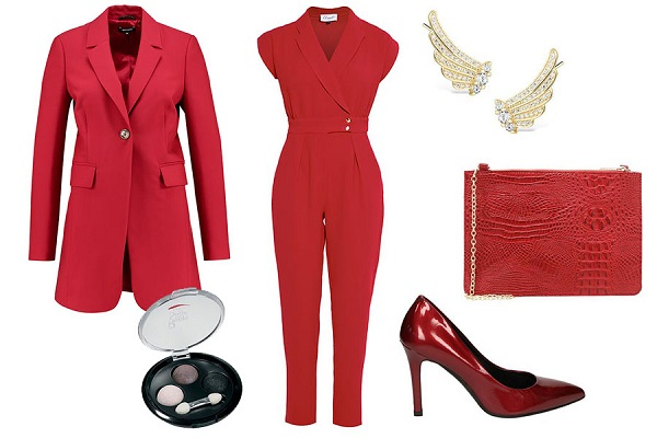 Red clothes set