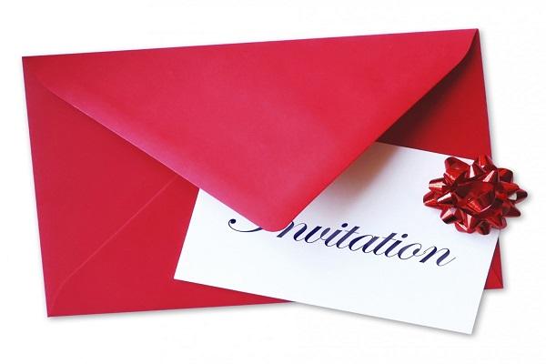 Send the invitations