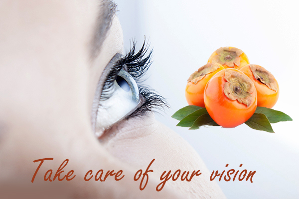 Health Benefits of Persimmon Fruit for better vision
