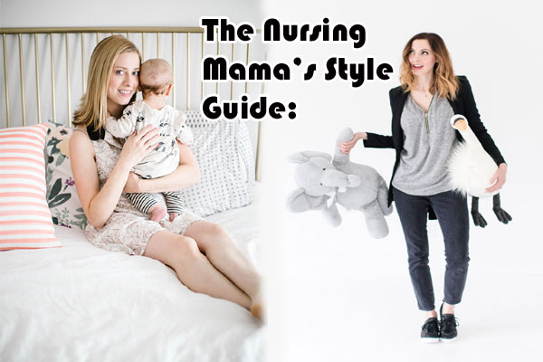 The Nursing Mama's Style Guide: Why You Should Invest In A Good Maternity lingerie!