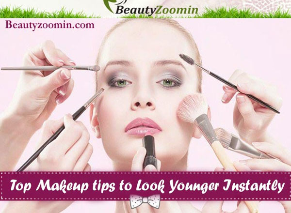 Makeup Tips To Look Younger Instantly